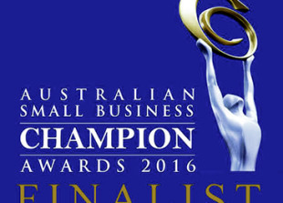 Australian Small Business Champion Awards Finalist 2016