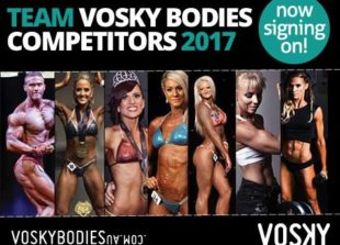VOSKY BODIES TEAM COMPETITION BODYBUILDING FITNESS FIGURE