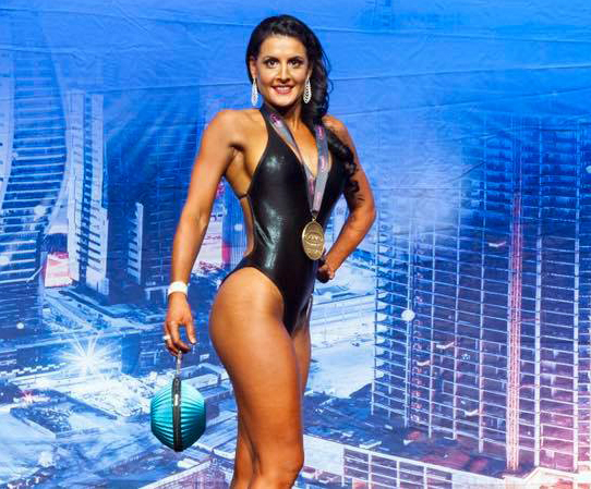 fitness model bikini vosky bodies champion